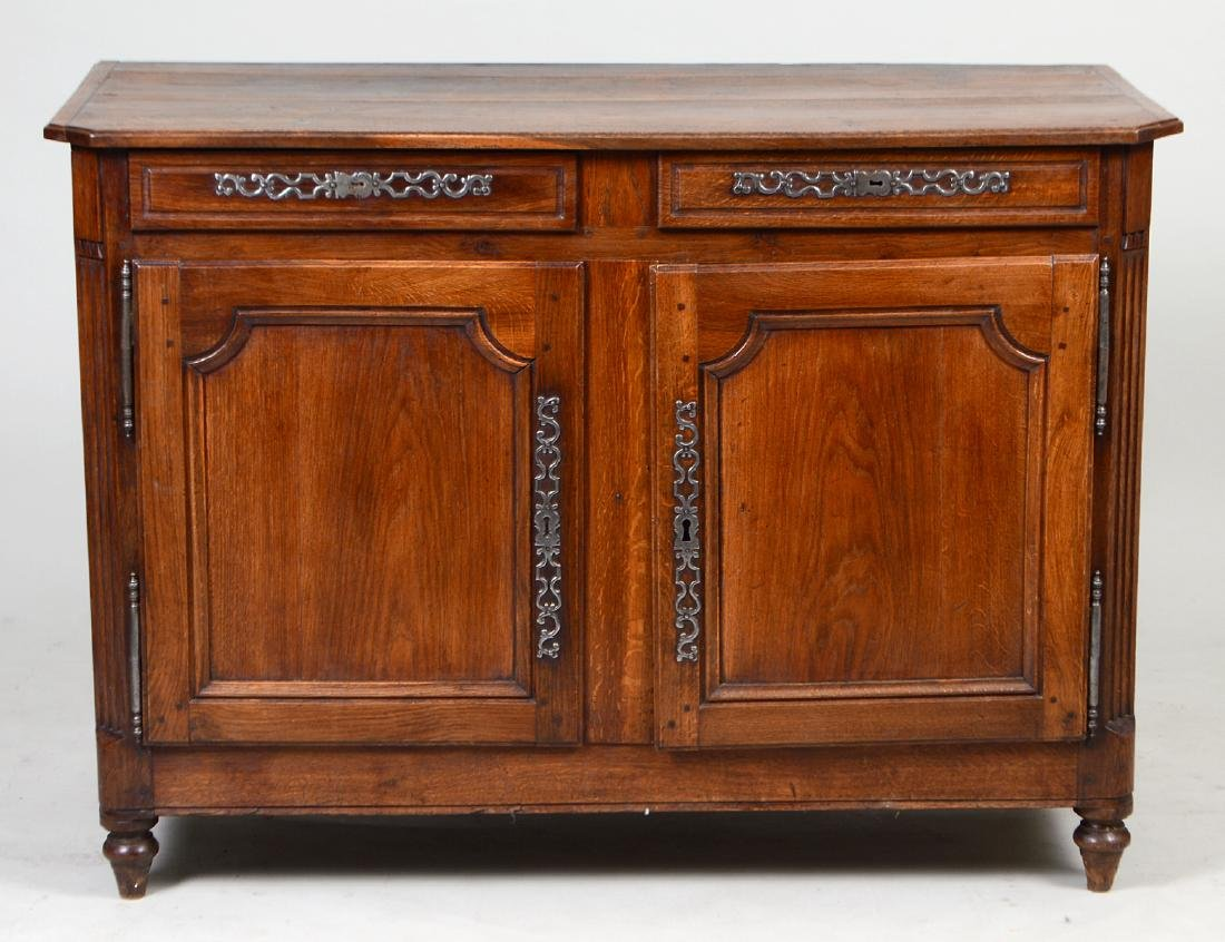 LOUIS XV PROVINCIAL OAK BUFFET