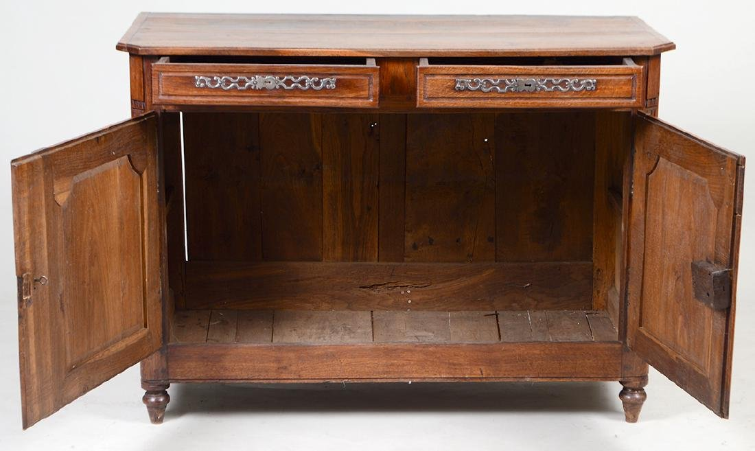 LOUIS XV PROVINCIAL OAK BUFFET - 2