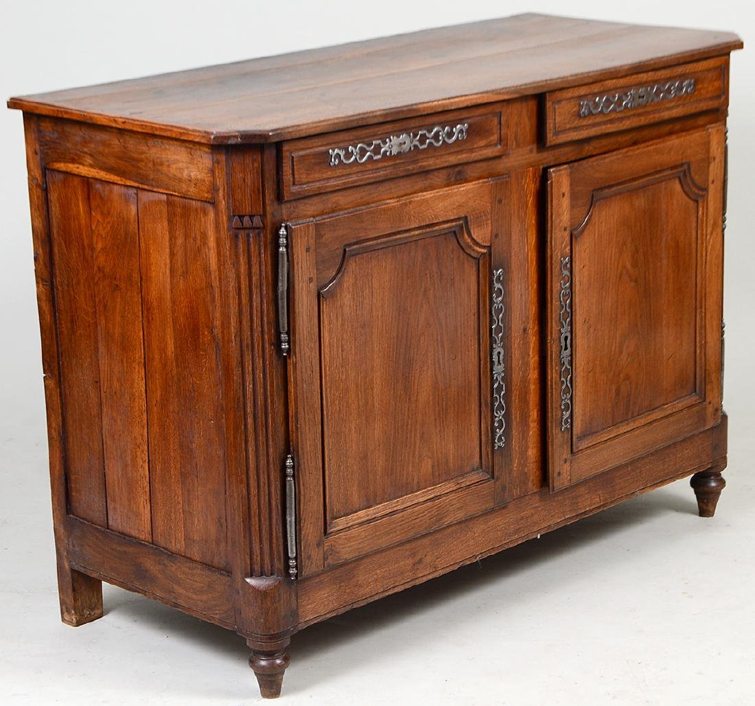 LOUIS XV PROVINCIAL OAK BUFFET - 4