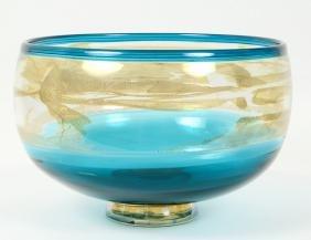 PHIL O'REILLY ART GLASS BOWL