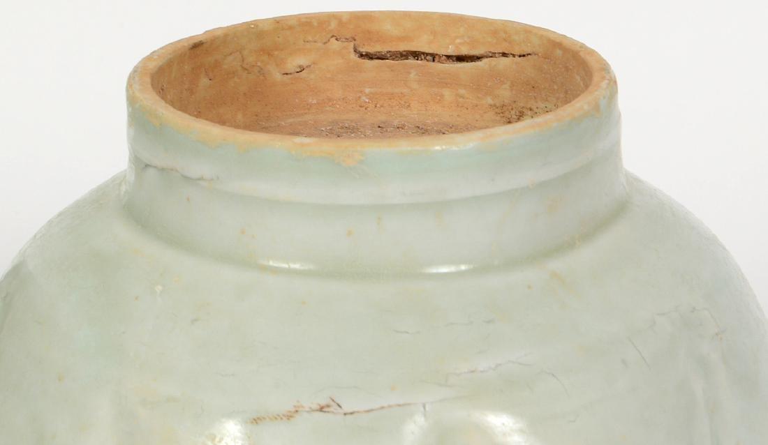 CHINESE PORCELAIN WINE EWER & WARMING BOWL - 6
