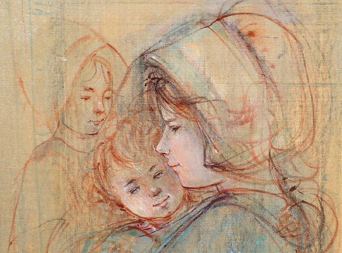 EDNA PLOTKIN HIBEL (American. 1917-2015) - 2