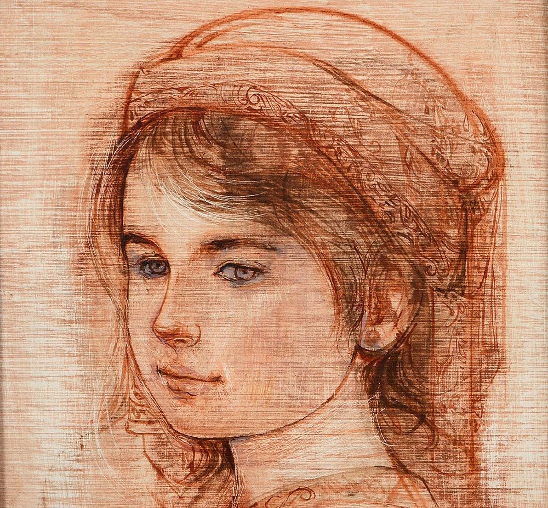 TWO WORKS OF ART BY EDNA (HIBEL) PLOTKIN - 3