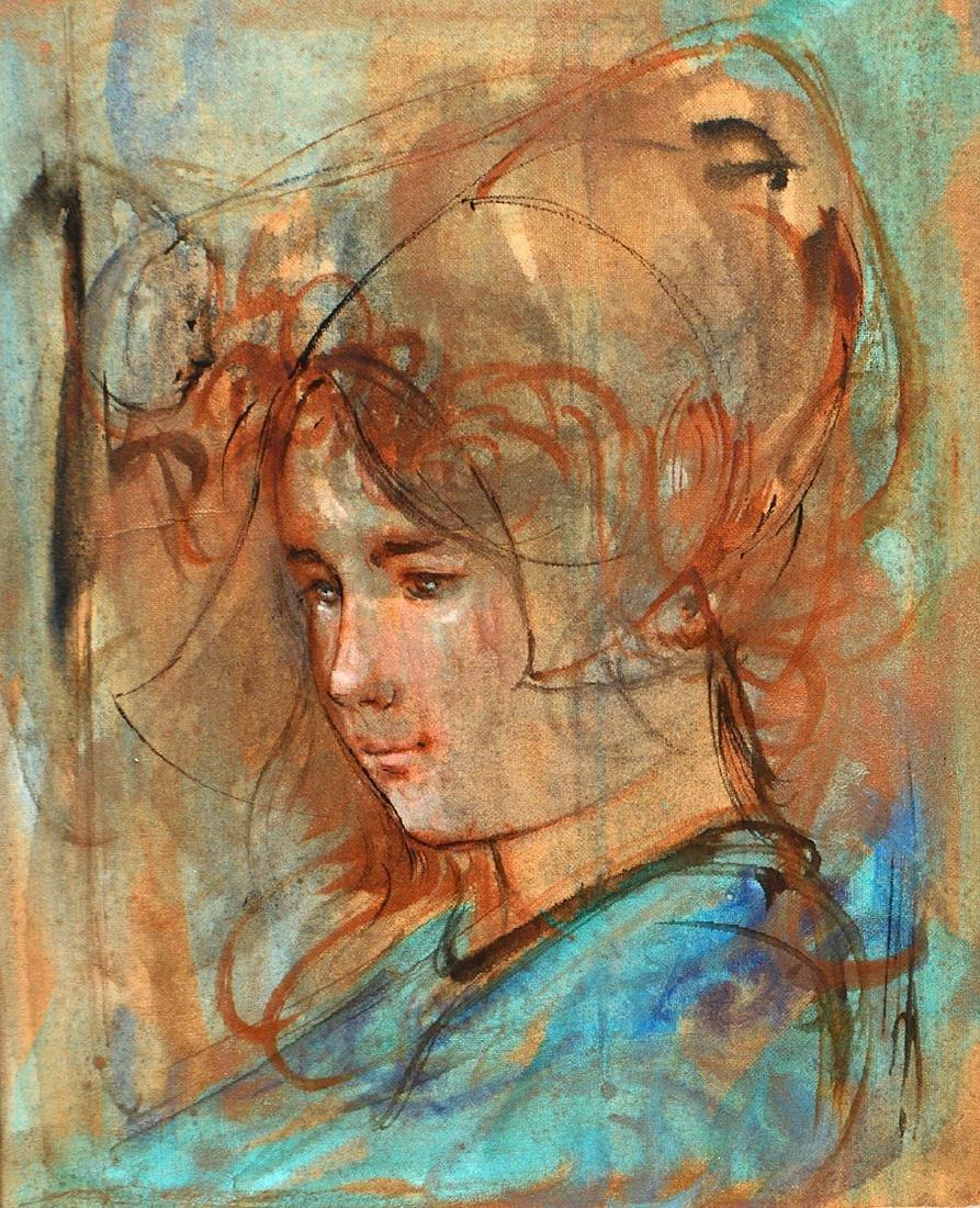 TWO WORKS OF ART BY EDNA (HIBEL) PLOTKIN - 5