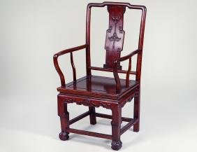 CHINESE HONG-MU ARMCHAIR