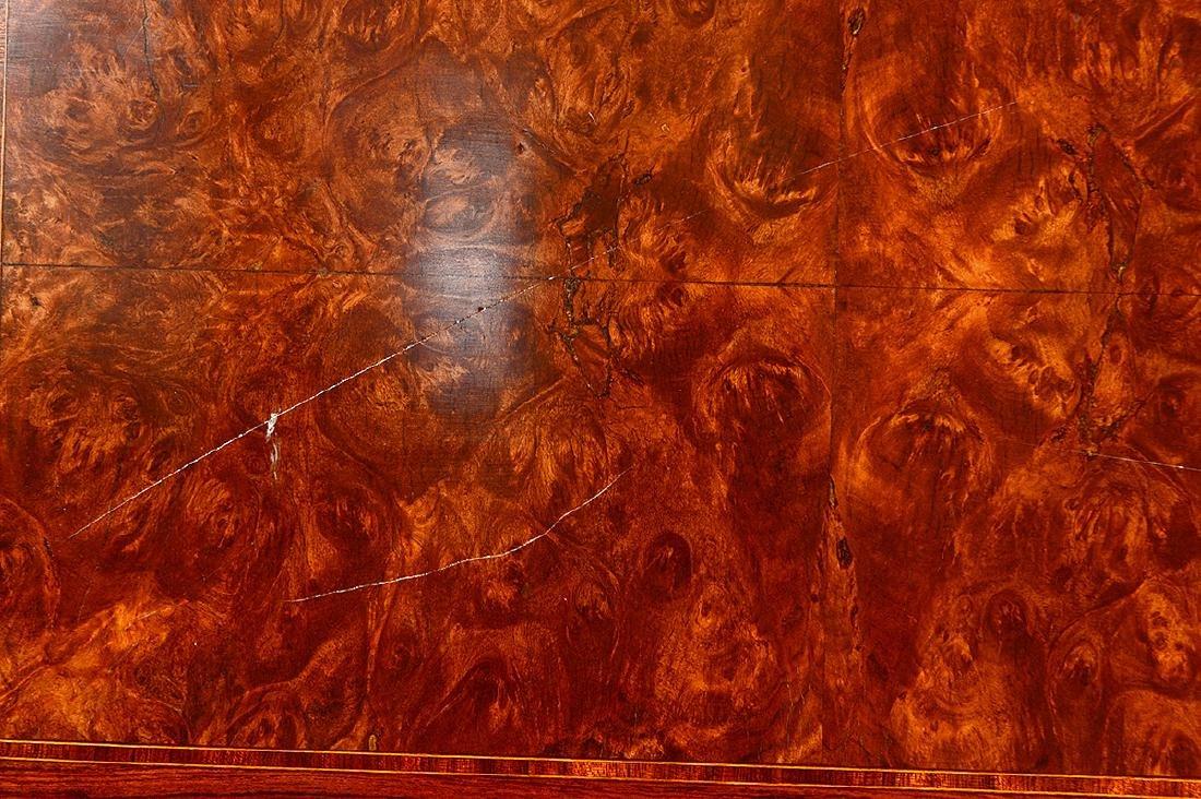 LOUIS XVI STYLE VARIOUS WOOD SECRETAIRE A'ABBATANT - 5