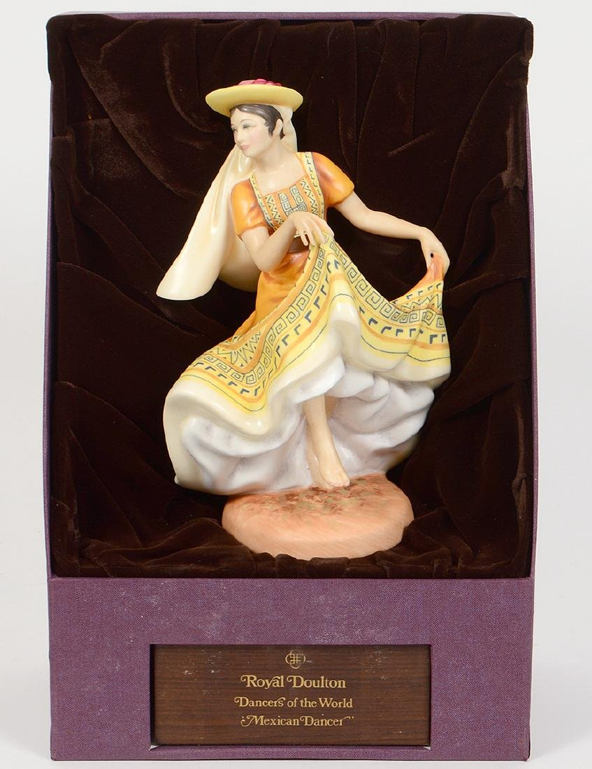 THREE ROYAL DOULTON DANCER OF THE WORLD FIGURINES - 2