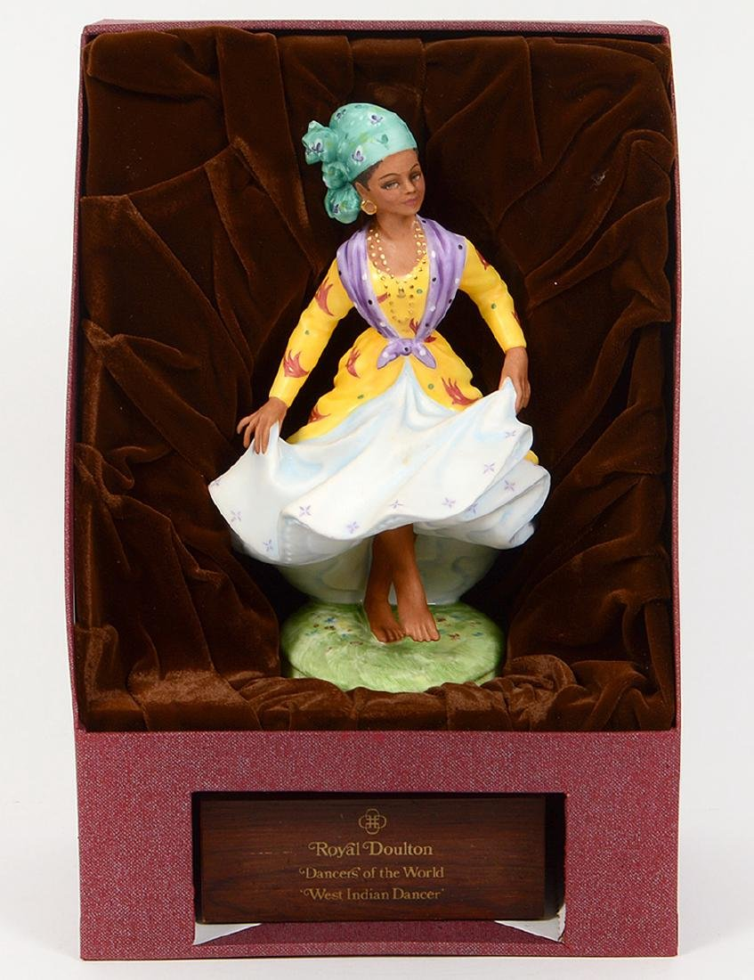 THREE ROYAL DOULTON DANCER OF THE WORLD FIGURINES - 8