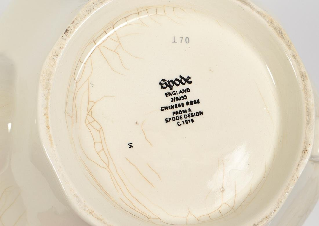 ENGLISH FIFTY-EIGHT PIECE EARTHENWARE PART DINNER - 7