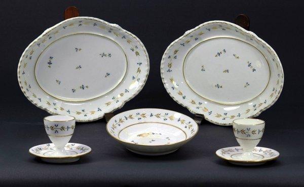 3: English Crown Derby Porcelain