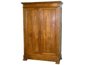 CHARLES X STYLE OAK ARMOIRE