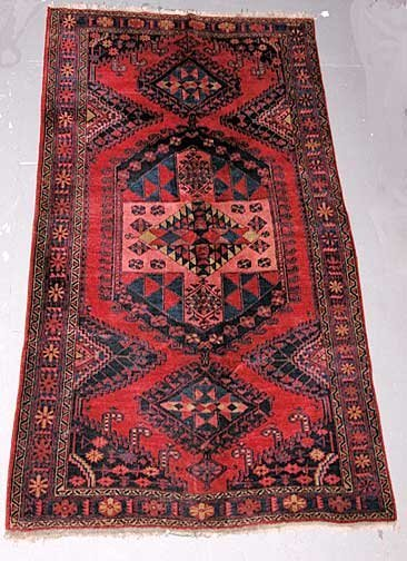 4: Hand Knotted Persian Prayer Rug