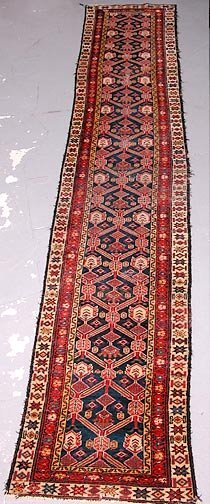 5: Hand Knotted Persian Runner.