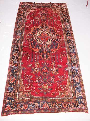7: Hand Knotted Persian Rug