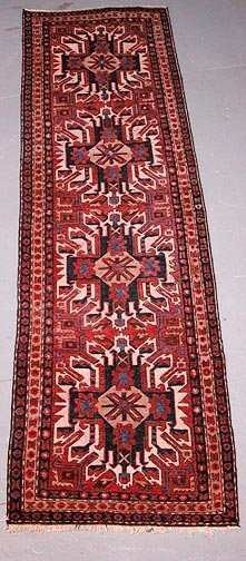 13: Hand Knotted Persian Rug