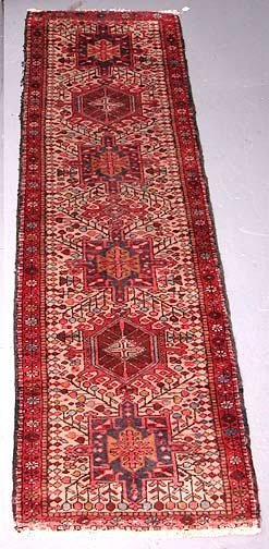 18: Hand Knotted Persian Rug