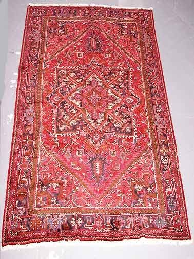 19: Hand Knotted Persian Rug