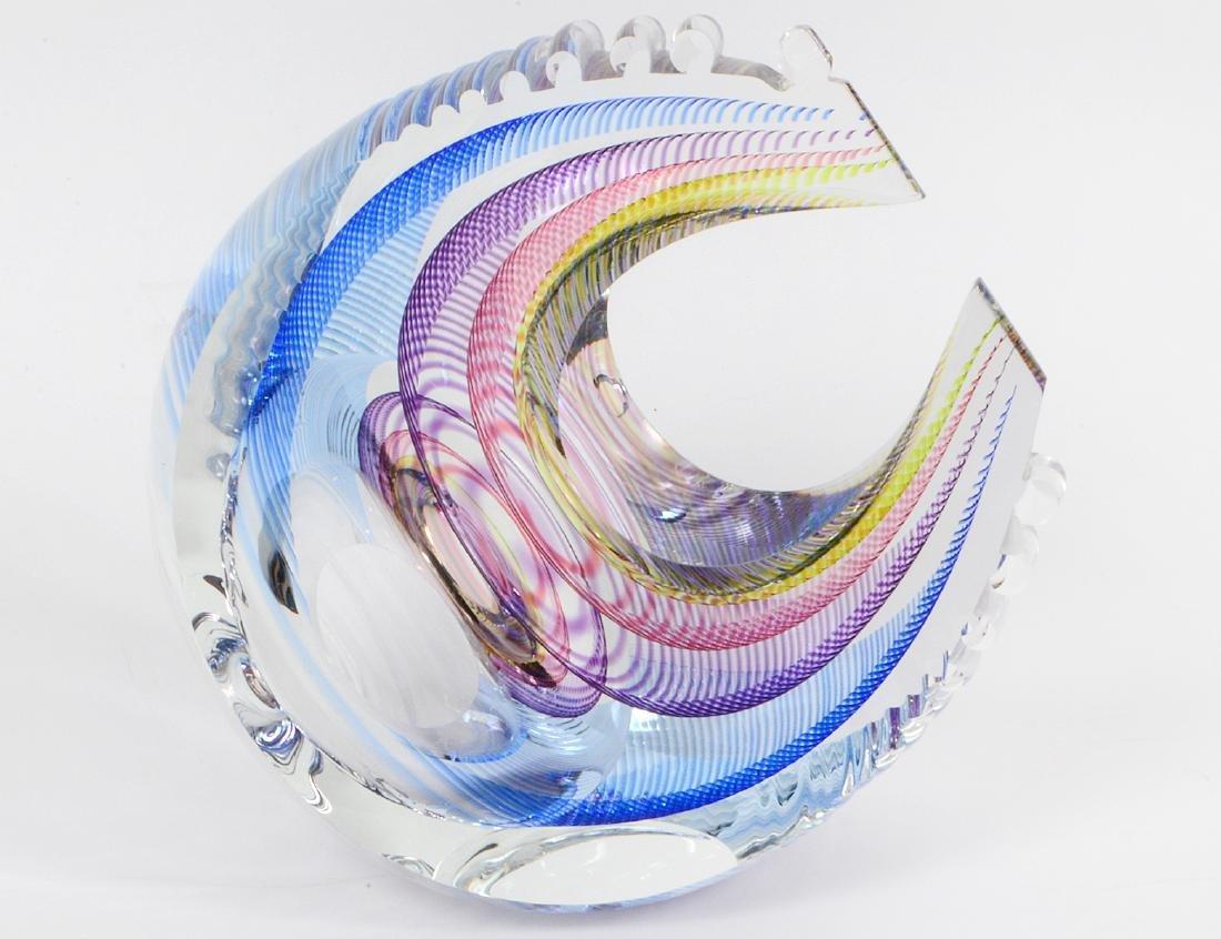 KIT KARBLER & MICHAEL DAVID STUDIO GLASS SCULPTURE