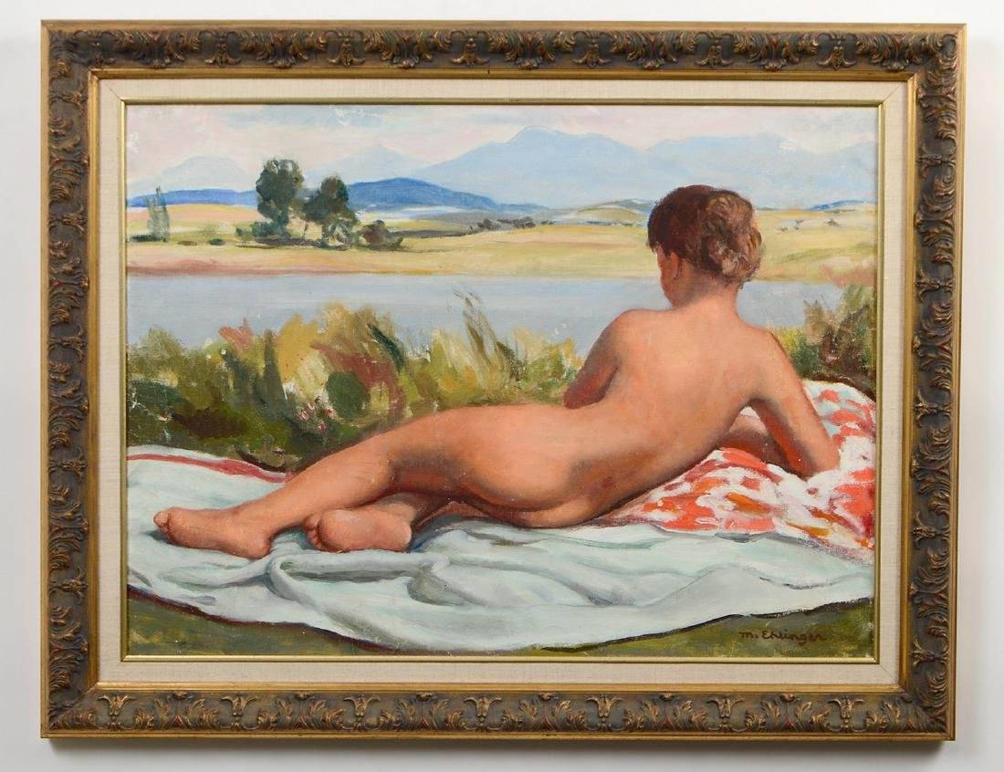MAURICE EHLINGER (French. 1896-1981)