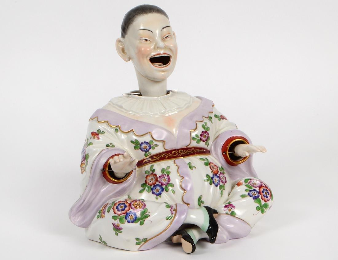 DRESDEN PORCELAIN 'NODDING HEAD' CHINAMAN