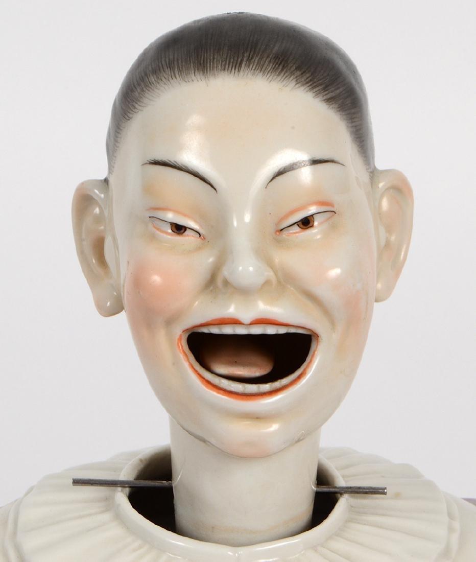 DRESDEN PORCELAIN 'NODDING HEAD' CHINAMAN - 6