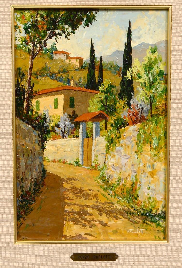 RENZO PAOLETTI (Italian. Born 1922) - 2