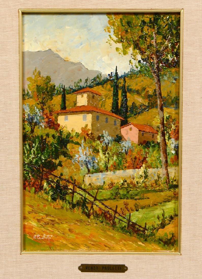 RENZO PAOLETTI (Italian. Born 1922) - 3