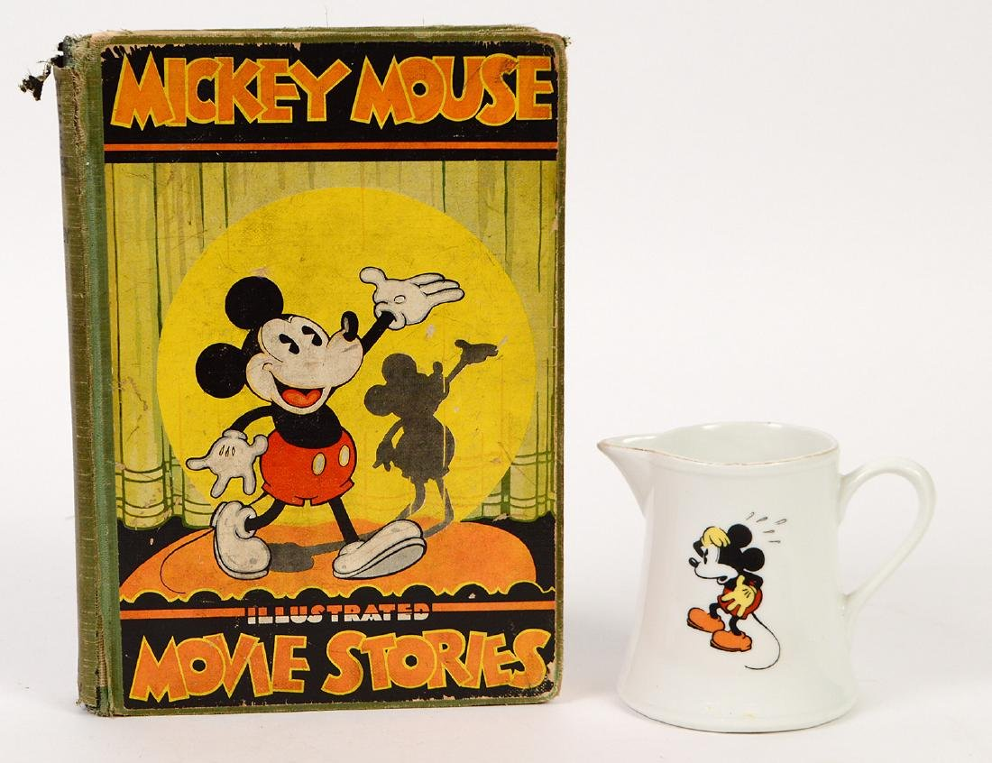 1931 MICKEY MOUSE FLIP BOOK, 'MOVIE STORIES' AND
