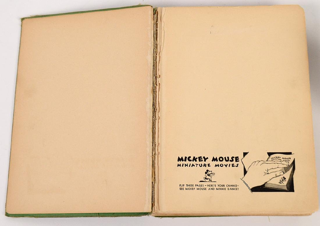 1931 MICKEY MOUSE FLIP BOOK, 'MOVIE STORIES' AND - 3