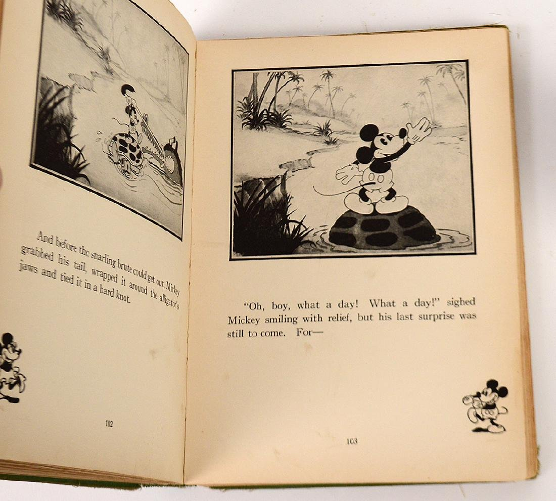 1931 MICKEY MOUSE FLIP BOOK, 'MOVIE STORIES' AND - 4