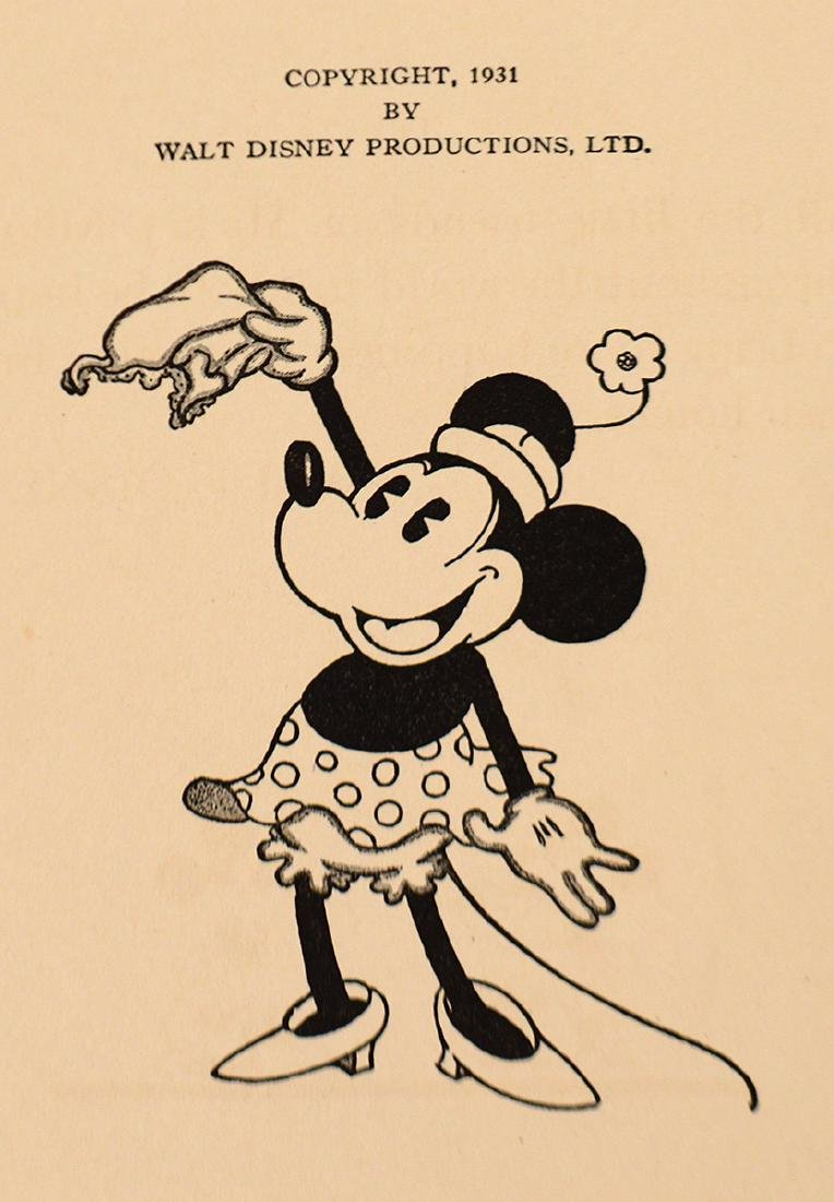 1931 MICKEY MOUSE FLIP BOOK, 'MOVIE STORIES' AND - 5