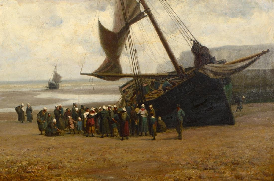 WILLIAM H. NORTON (English/American. 1843-1916) - 2
