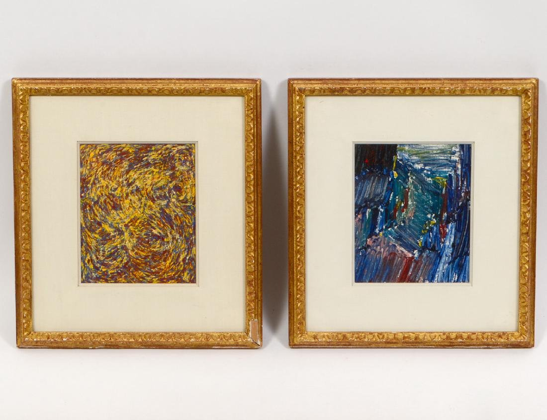 TWO WORKS BY TOM EVANS (20th Century)