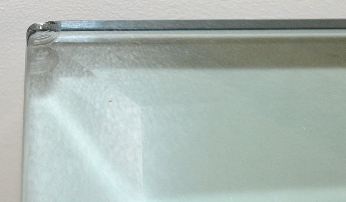 CONTEMPORARY GLASS AND LUCITE SIDE TABLE - 5
