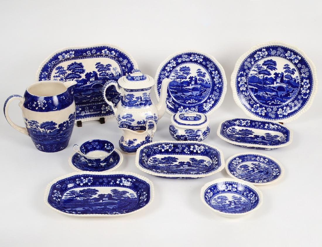 SPODE TRANSFER PRINTED PART TABLE SERVICE