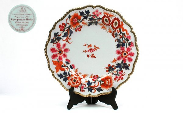 4:  Flight Barr & Barr Worcester Dinner Plate