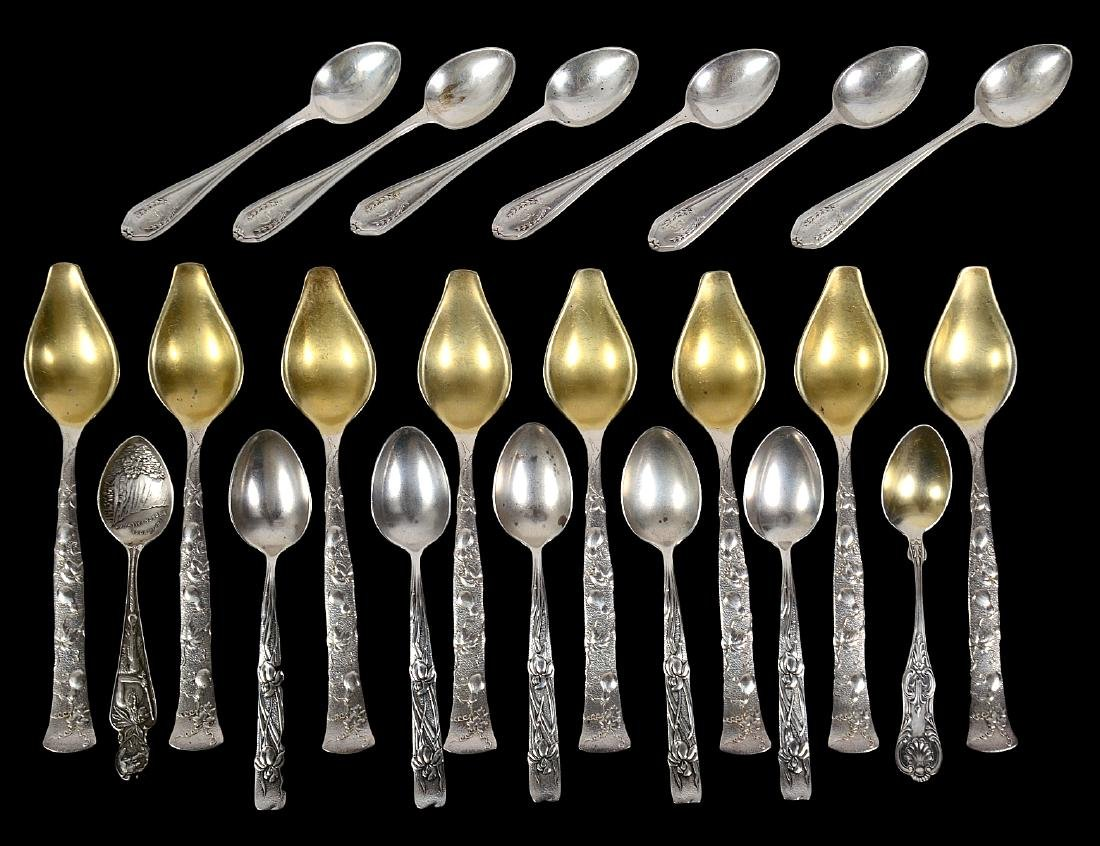 GROUP OF AMERICAN STERLING SILVER