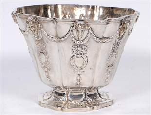 WILLIAM IV NEO-CLASSICAL SILVER BOWL