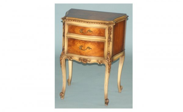 215: Saginaw Furniture Italian Provincial Two-Drawer Ve