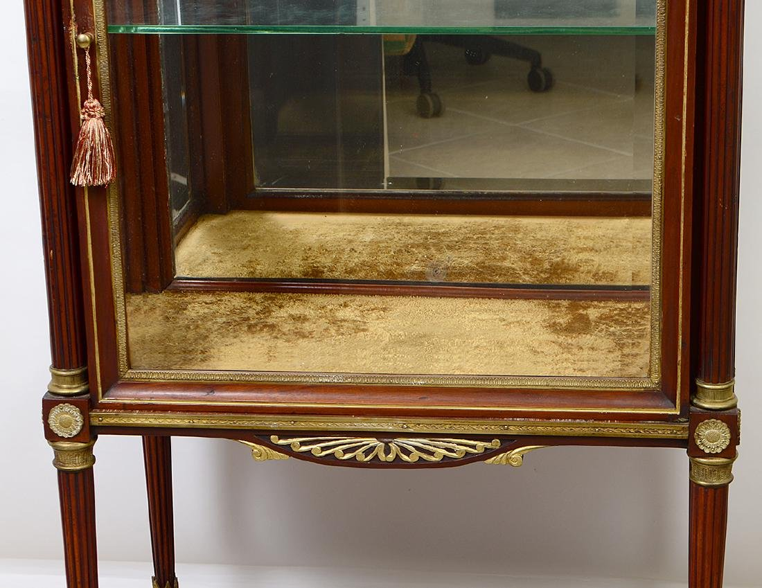 EMPIRE STYLE GILT BRONZE MOUNTED MAHOGANY CABINET - 3