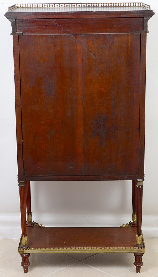 EMPIRE STYLE GILT BRONZE MOUNTED MAHOGANY CABINET - 8