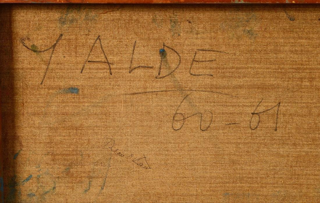 YVETTE ALDE (French. 1911-1967) - 8