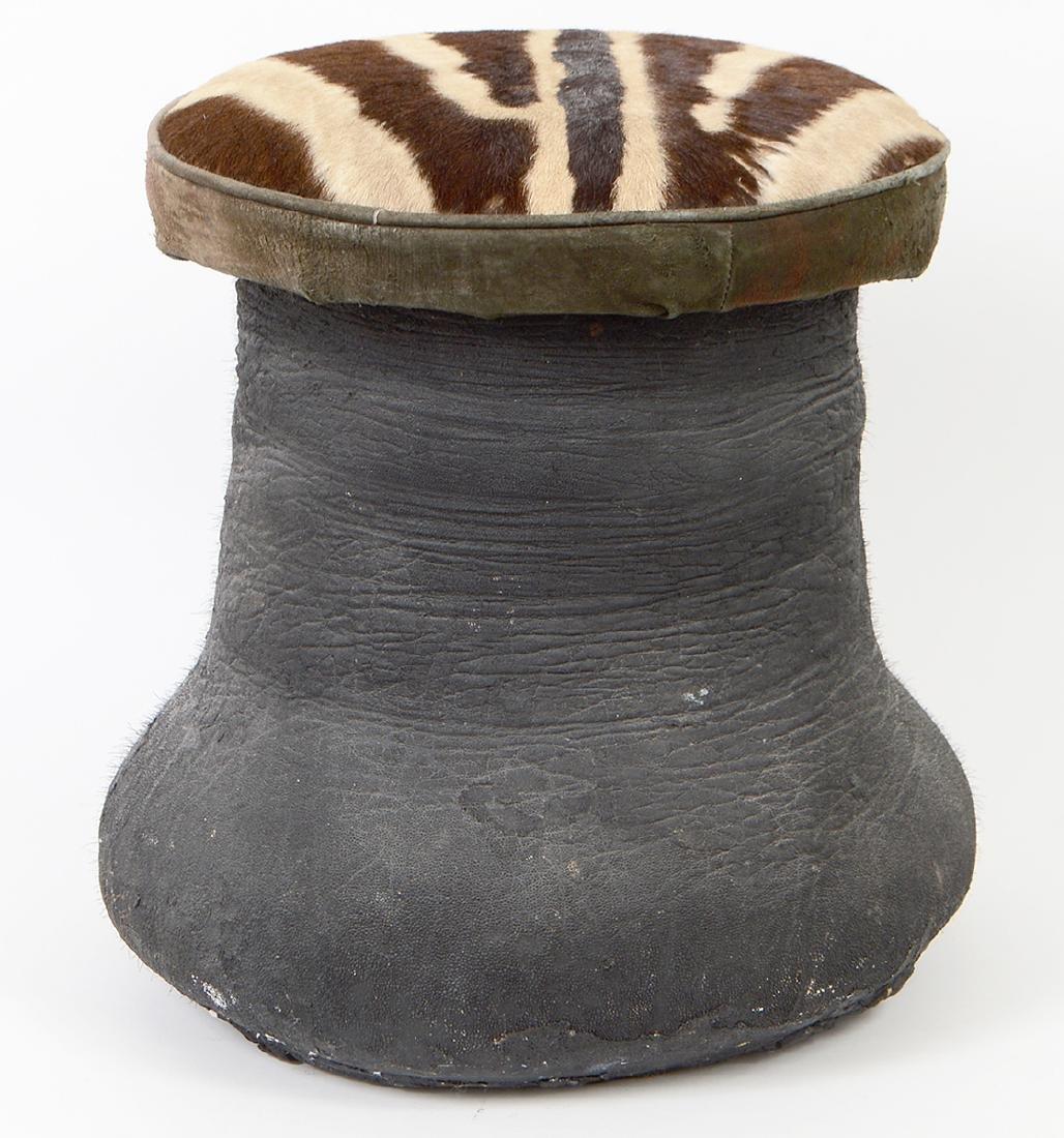 ELEPHANT FOOT STOOL - 5