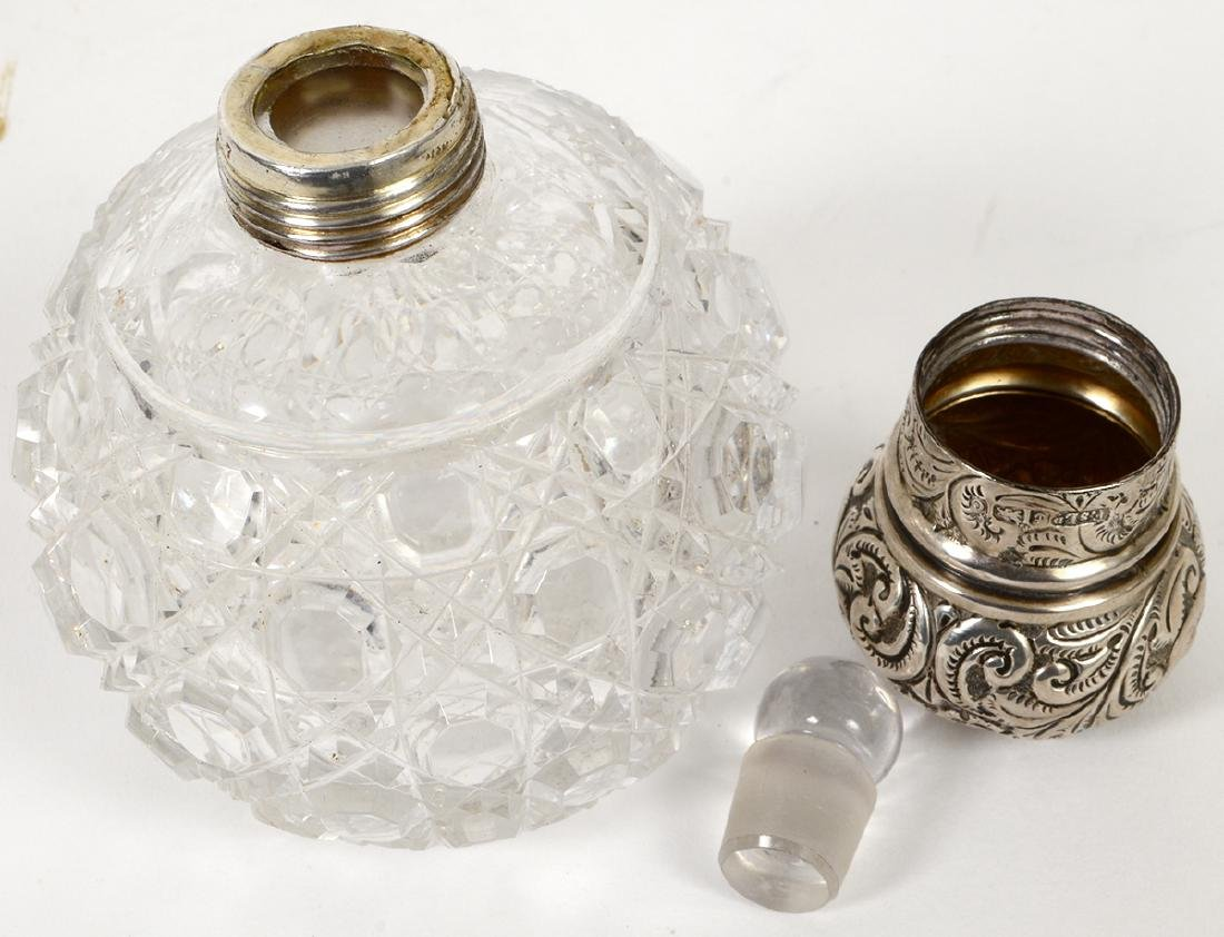 TWO ENGLISH STERLING DRESSING TABLE ITEMS - 4