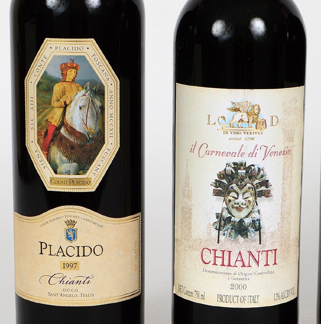 FIVE BOTTLES OF ITALIAN CHIANTI - 3