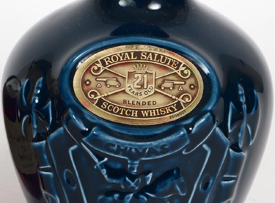 BLANTON KENTUCKY BOURBON & CHIVAS ROYAL SALUTE SCOTCH - 3