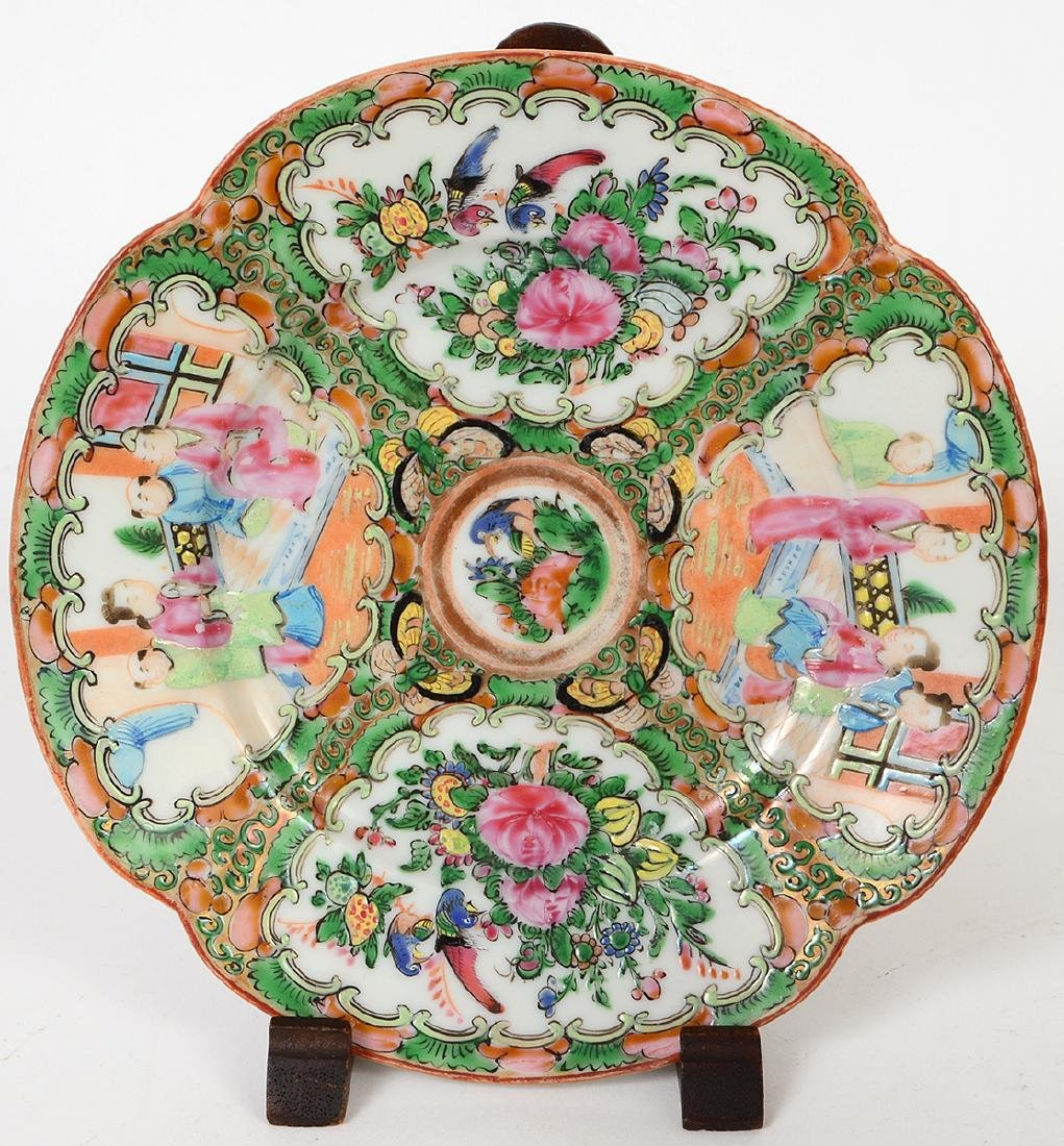 SIX CHINESE EXPORT PORCELAIN TABLE ITEMS - 4