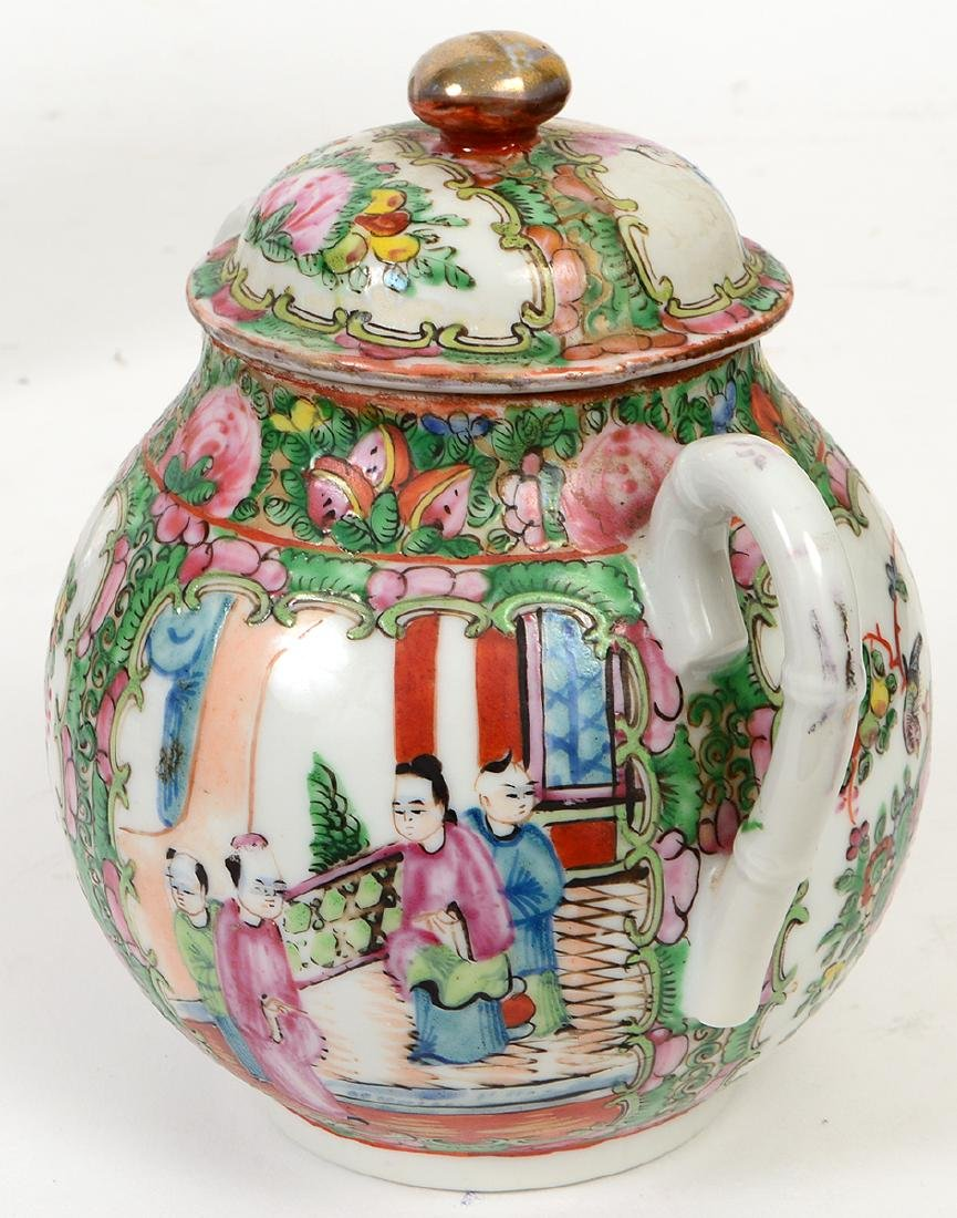 SIX CHINESE EXPORT PORCELAIN TABLE ITEMS - 5