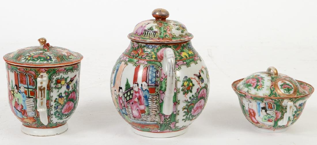 SIX CHINESE EXPORT PORCELAIN TABLE ITEMS - 7