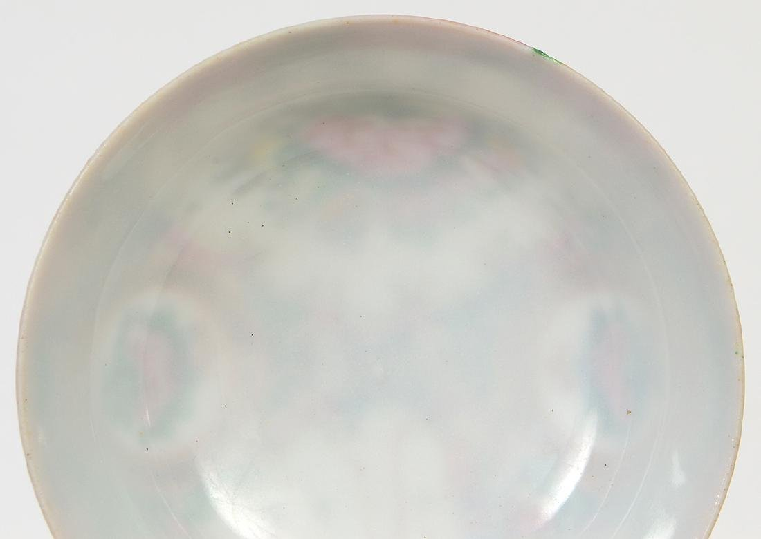SIX CHINESE EXPORT PORCELAIN TABLE ITEMS - 9